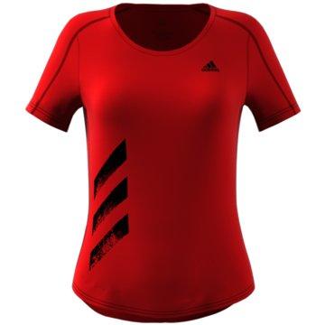 adidas T-ShirtsRun It Tee 3-Stripes Women -