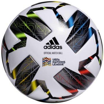 adidas FußbälleUEFA Nations League Pro OMB weiß