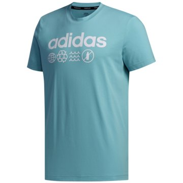 adidas T-ShirtsM T P.BLUE - FT8680 blau