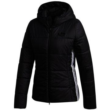 adidas ÜbergangsjackenSlim Jacket schwarz
