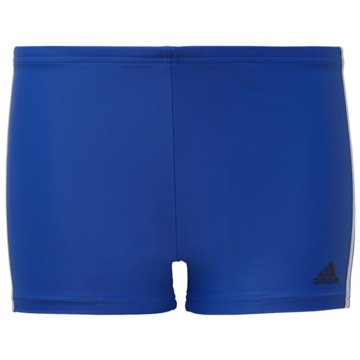 adidas Badeshorts3-STREIFEN BOXER-BADEHOSE - GE2034 blau