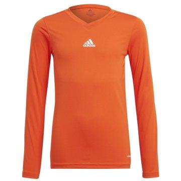 adidas FußballtrikotsTEAM BASE LONGSLEEVE - GN7511 orange
