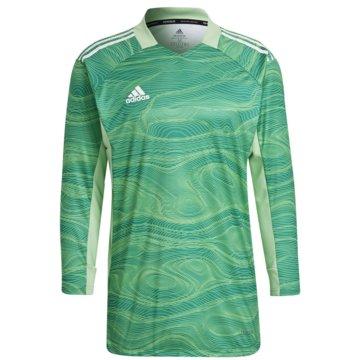 adidas FußballtrikotsCONDIVO 21 PRIMEBLUE LONG SLEEVE TORWARTTRIKOT - GT8421 grün