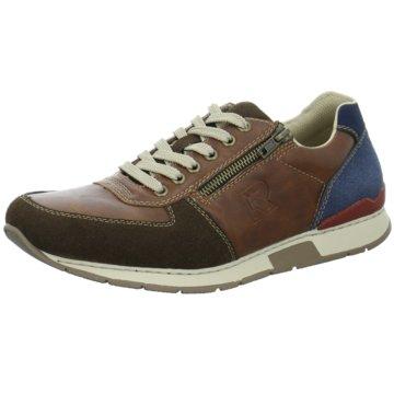 Rieker Klassischer SchnürschuhSneaker braun