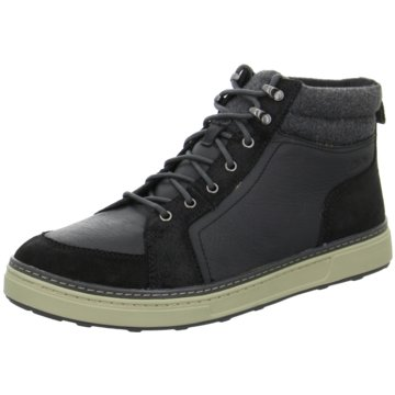 Clarks Sneaker HighLorsen Top schwarz