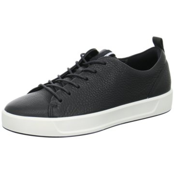 Ecco Sneaker LowSoft 8 Ladies schwarz