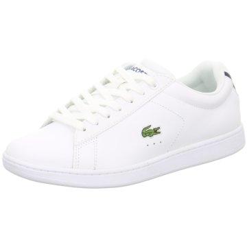 Lacoste Sneaker LowCarnaby Evo Sneaker weiß