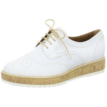 Tamaris Eleganter SchnürschuhSneaker weiß