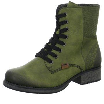 Rieker Komfort Stiefelette grün