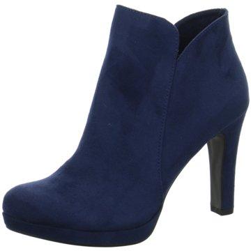 Tamaris Stiefelette blau