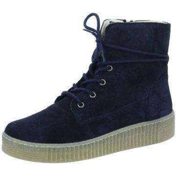 Gabor Sneaker HighStiefel blau