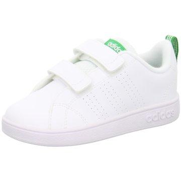 adidas KlettschuhVS Advantage Clean CMF Inf weiß