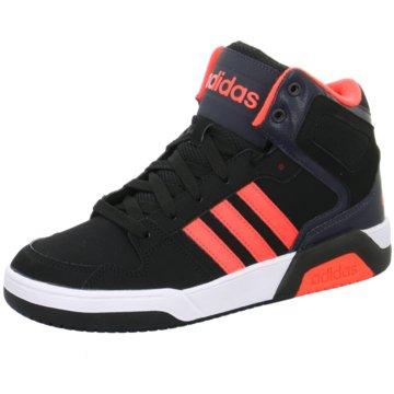 adidas Sneaker HighBB9TIS MID K schwarz