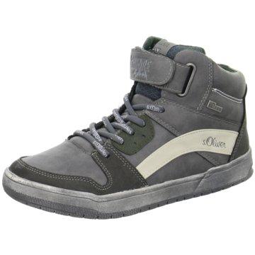 s.Oliver Sneaker High grau