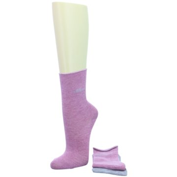 Camano kurze Socken lila