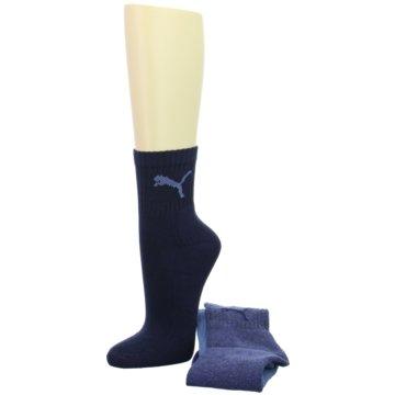 Puma Socken & Strumpfhosen blau