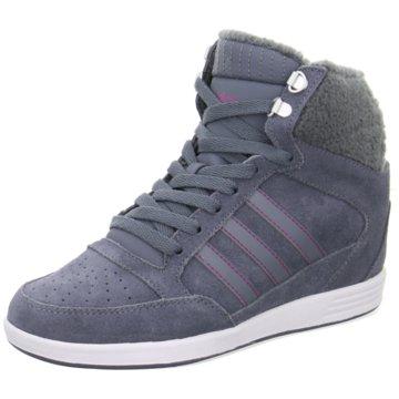 adidas Sneaker Wedges blau