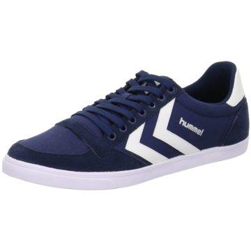 Hummel Sneaker Low blau