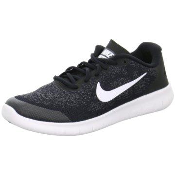 Nike LaufschuhFree RN 2 GS Kinder Laufschuhe Running schwarz weiß schwarz