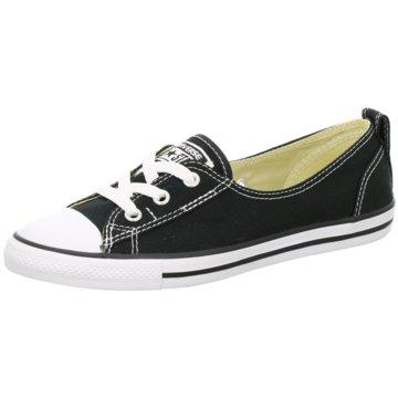 Converse Sneaker LowChuck Taylor All Star Ballet Lace Damen Sneaker schwarz weiss schwarz