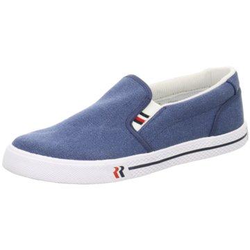 Romika Sportlicher Slipper blau