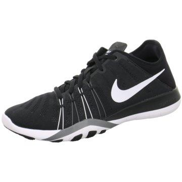 Nike Sneaker LowFree Trainer 6 Damen Fitnessschuhe schwarz/weiß schwarz