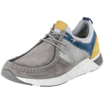 Sioux Sneaker Low grau