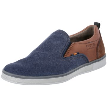 Fretz Men Sportlicher Slipper blau
