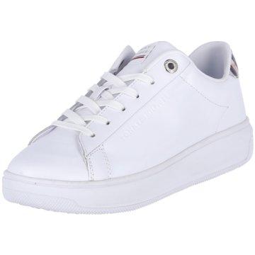 Tommy Hilfiger Plateau SneakerMonogram Cupsole weiß