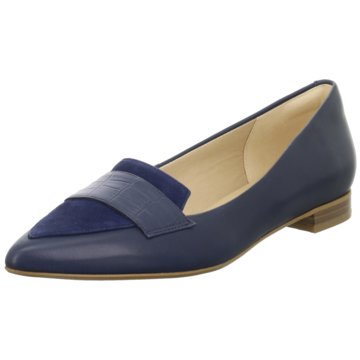 Clarks Eleganter Ballerina blau