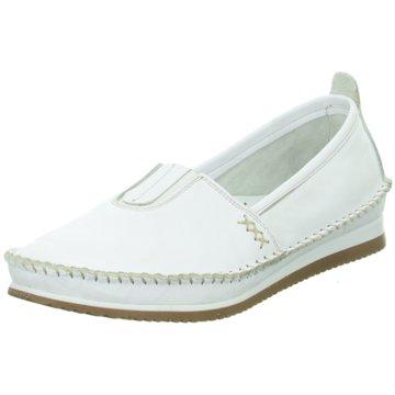 Esgano Komfort Slipper weiß