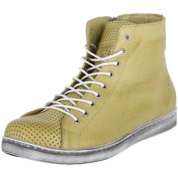 Andrea Conti Sneaker High gelb