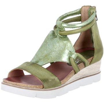 Mjus Sandale grün