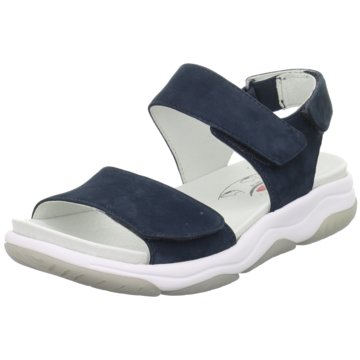 Gabor Komfort Sandale blau