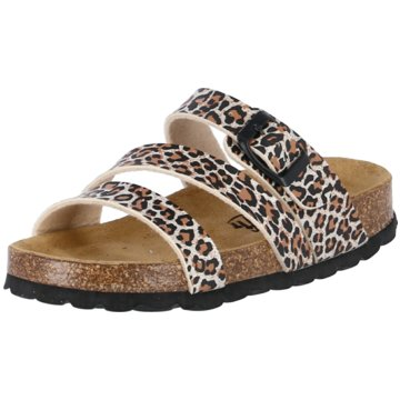 Biofit Offene Schuhe braun