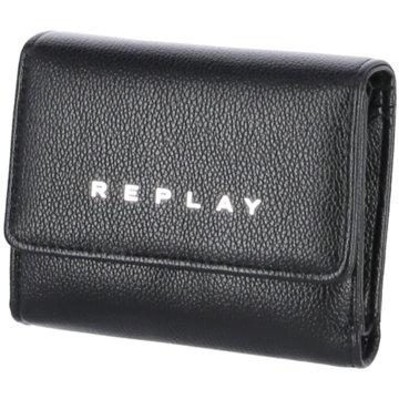Replay Geldbörsen & Etuis schwarz