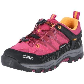 CMP Wander- & BergschuhKIDS RIGEL LOW TREKKING SHOE KIDS W - 3Q54554J pink