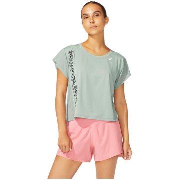 asics T-ShirtsSMSB RUN SS TOP - 2012B900-020 grau
