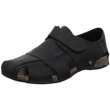 Panama Jack Komfort Slipper schwarz