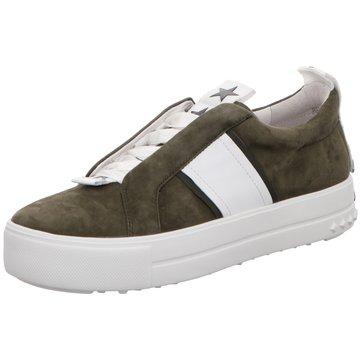 Kennel + Schmenger Plateau Sneaker oliv