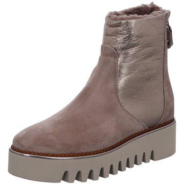 Alpe Woman Shoes Plateau Stiefelette braun