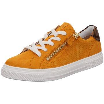 Hassia Komfort Schnürschuh gelb
