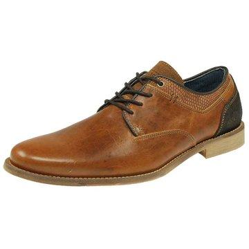 Shoe Colour Business Schnürschuh braun