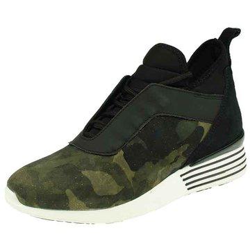 hip shoe style Sneaker High grün
