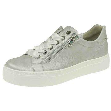 Semler Sneaker Low silber