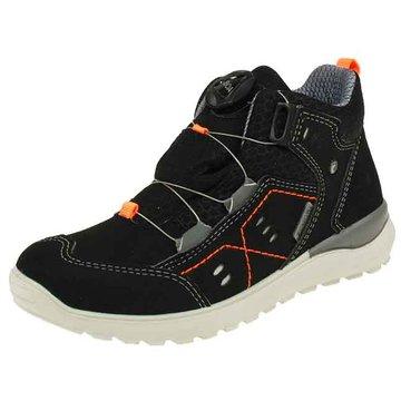 Ricosta Sportlicher Schnürschuh schwarz