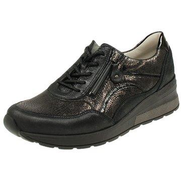 Waldläufer Bequeme SchnürschuheSneaker schwarz