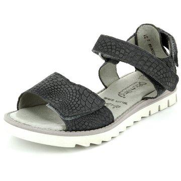 Däumling Sandale schwarz