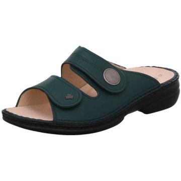 FinnComfort Komfort Pantolette grün