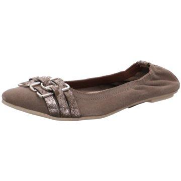SPM Shoes & Boots Modische Ballerinas grau